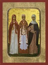 μητέρες τριών ιεραρχών
